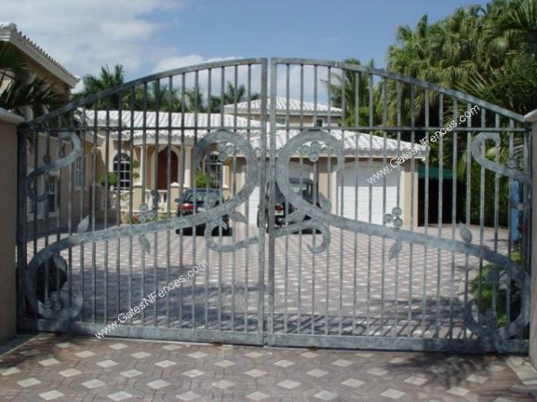 Custom Decorative Driveway Gates, Gates and Fences