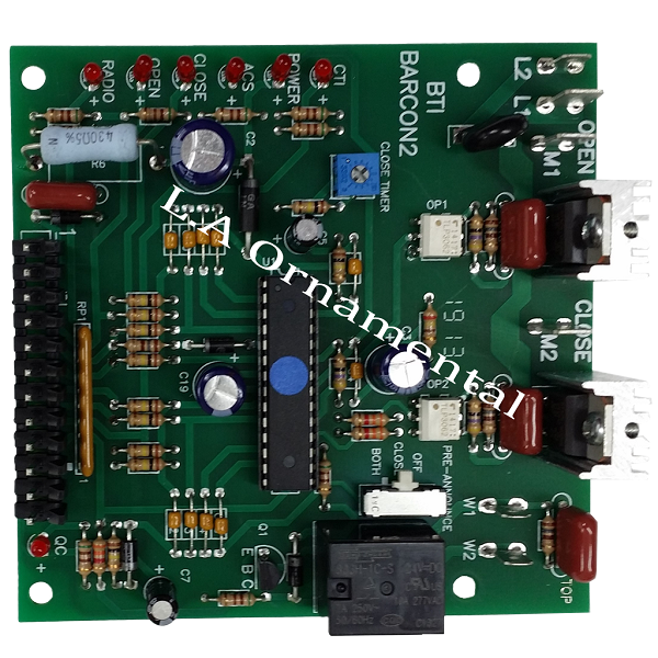 Power Master Barcon2 Replacement Circuit Board For P1500