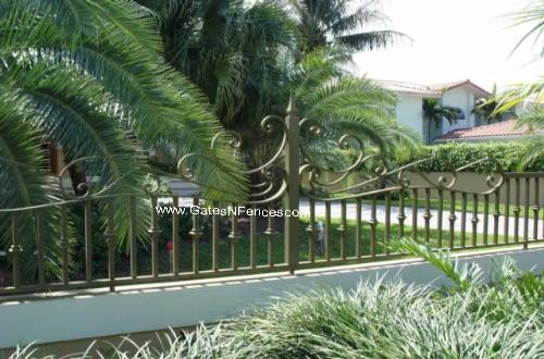 Garden Border Fence Iron Garden Fence Design Iron Garden