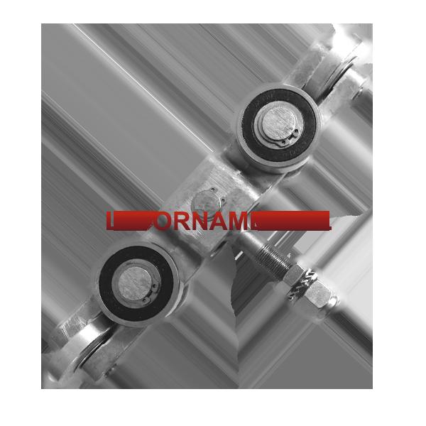 Internal 6 Wheel Slide Gate Truck Assembly