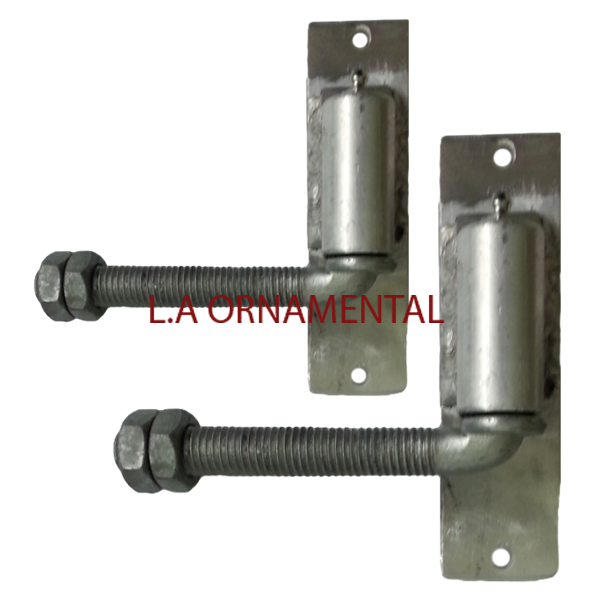 3 4 Quot J Bolt Aluminum Gate Adjustable Hinge Pair