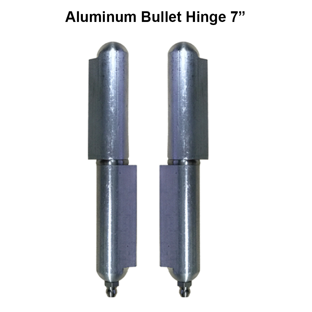 7 Quot Heavy Duty Aluminum Weld On Hinge Body Bullet Stainless