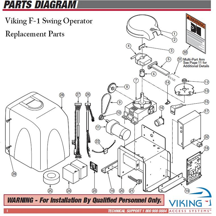 Viking parts for f dumrs reset switch