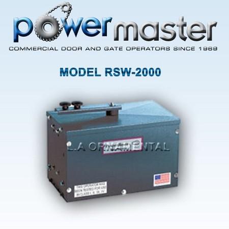 Swing Gate Opener Powermaster Rsw Residential