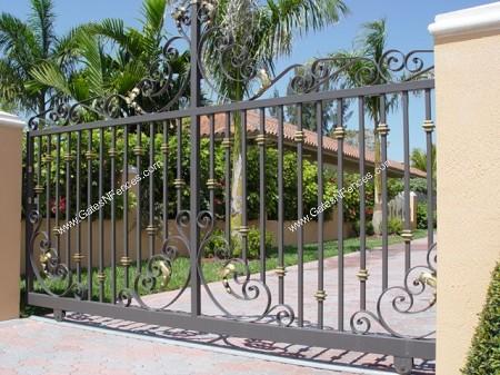 Slide Driveway Gates Sliding Aluminum Gate Design
