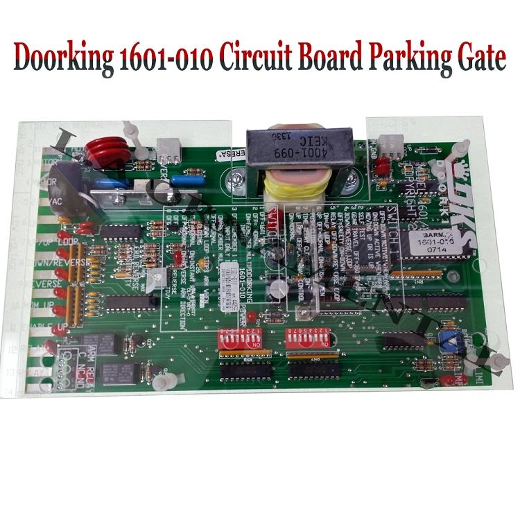 Doorking Circuit Board For Arm Barrier Gate Doorking 1601