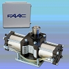 FAAC 750 Double In-Ground Hydraulic Operator Kit - Includes Hydraulic Pump Enclosure, 455D Control Panel with 14