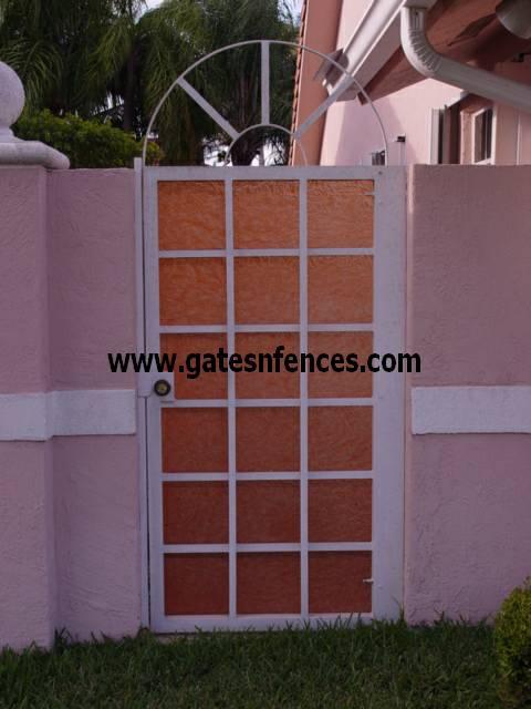 Garden Gates Walk Thru Gates Wrought Iron Or Aluminum Garden Pedestrian  Gates