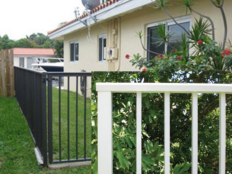 Aluminum Fences decorative designs