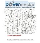 PowerMaster # 9 # 1007 Control Arm Weldment For CSWI