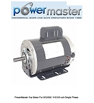 PowerMaster 1hp Motor For SG2000 115/230 volt Single Phase