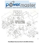 PowerMaster Disconnect Hub For SG 2000 2-3/8 Brass