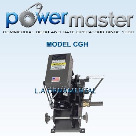 Powermaster Cgh 101 1 Hp 115v 1 Phase Industrial Duty