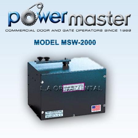 Swing Gate Openers Powermaster Msw Residential Opener