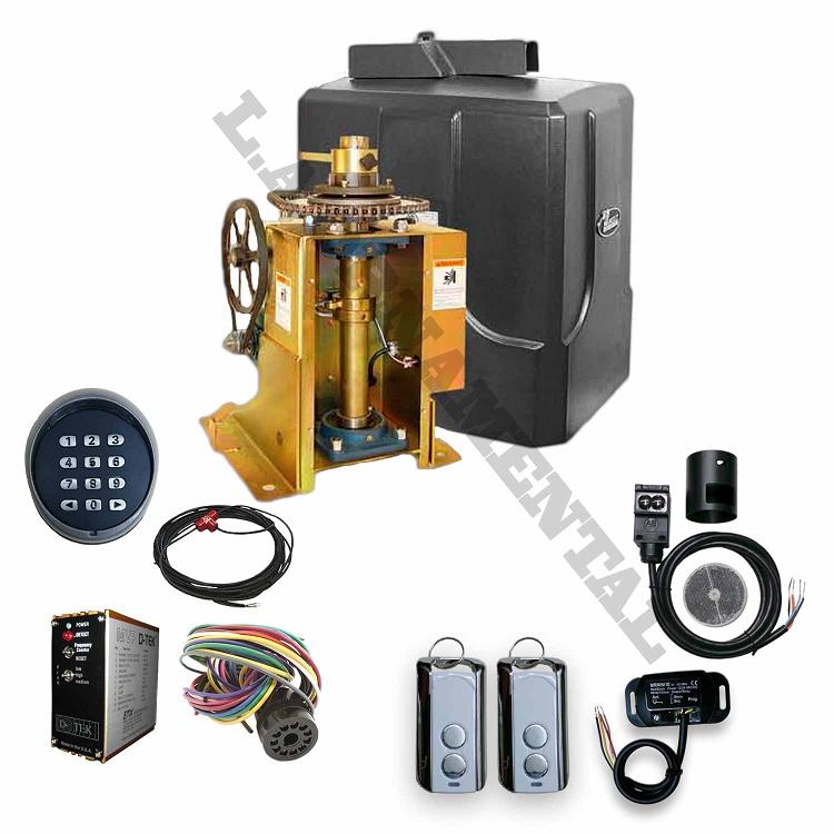Swinging Automatic Gate Operator Kit Electronic Swing Gate