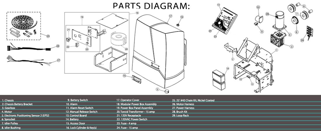 Viking H 10 Parts