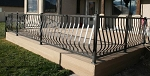 Aluminum Modern Belly Railing