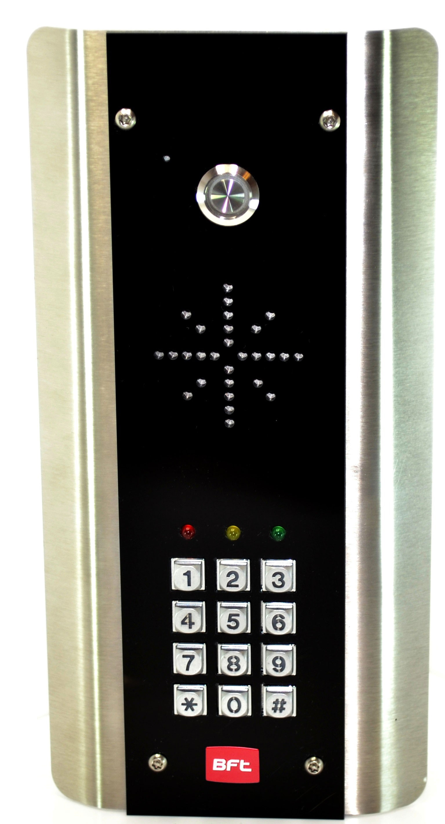 Bft Cellular Call Box With Keypad Surface Mount Black Euro