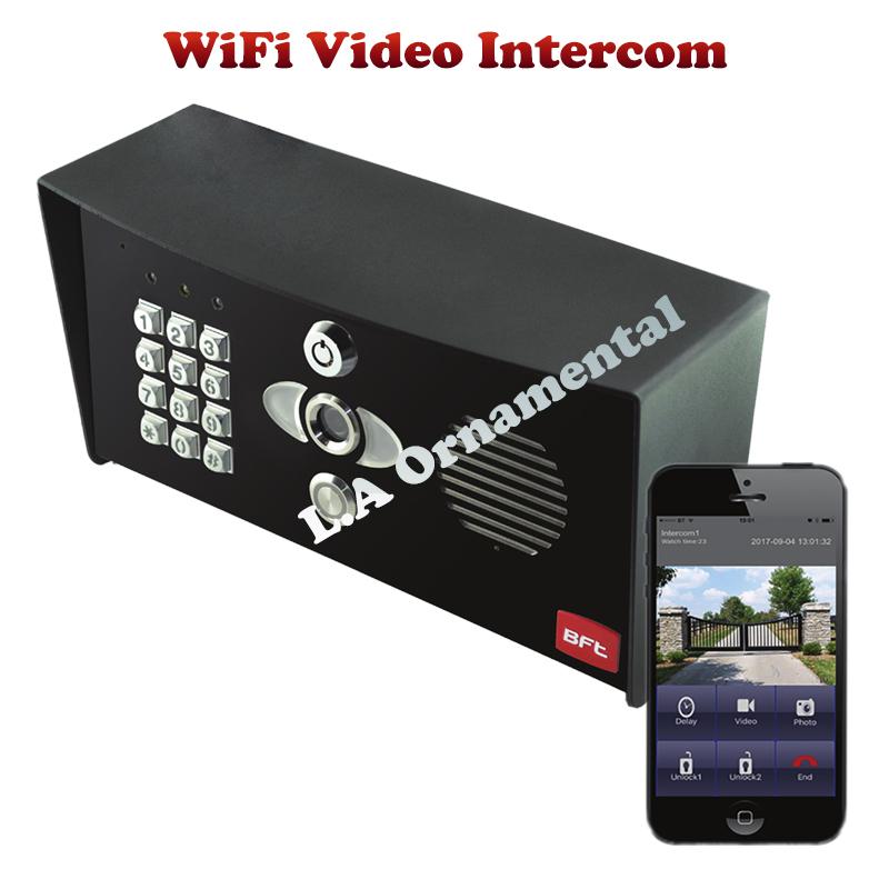 Bft Call Box Video Wifi Intercom With Keypad Entry System