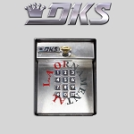 Doorking 1506-091 Secondary Keypad Flush Mount Digital Programmable