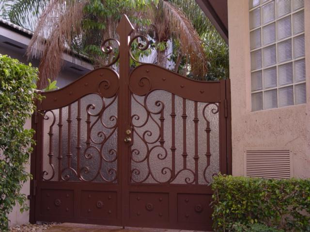 Privacy Driveway Gate Private Empire