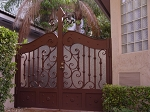 Privacy Driveway gate Private Empire