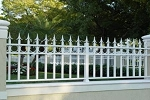 Aluminum fence  Superior Circle