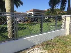 Aluminum fence Evolution