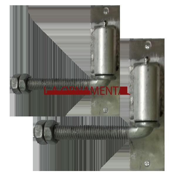 3 4 Quot J Bolt Aluminum Gate Adjustable Hinge Pair
