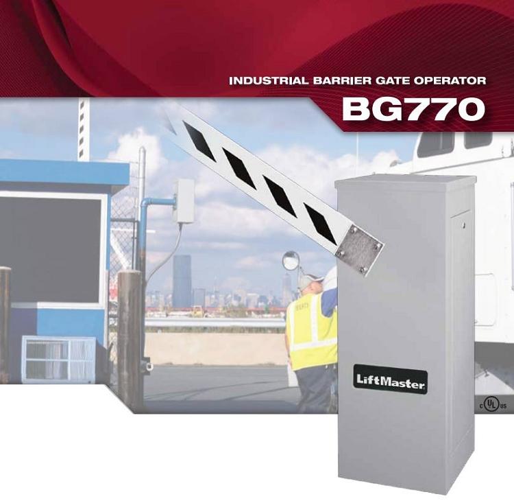 Liftmaster bg  v phase industrial duty