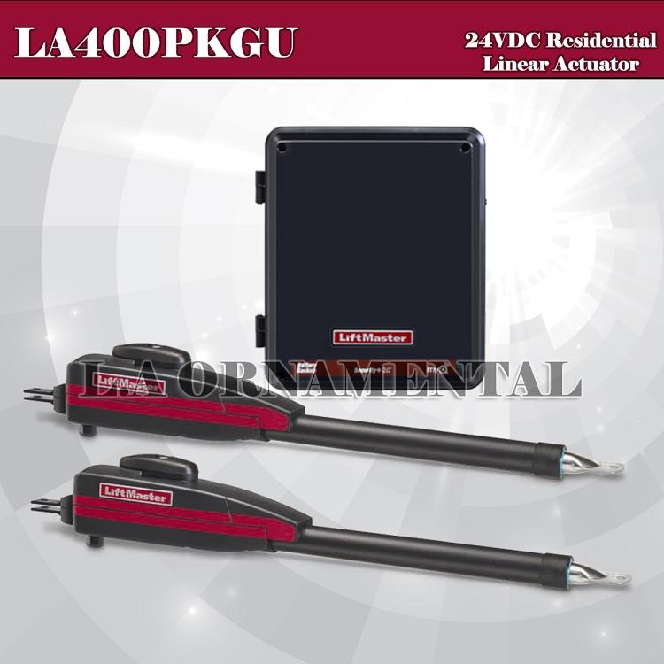 Liftmaster La400pkgu Residential Dc Linear Gate Operator