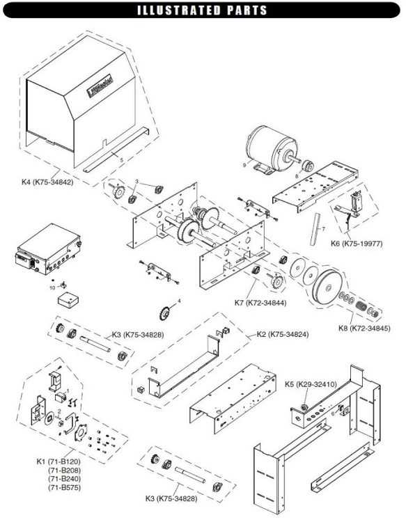 Liftmaster Limit Switch For Sl575gl
