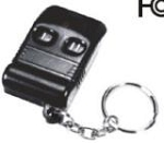 Long Range - 2 Button Keychain Remote Control (315Hmz)