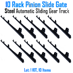 Rack Pinion Slide Gate Rack Pinion UNIVERSAL Automatic Sliding Gear Track Nylon Set of 10