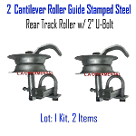 Stamped Steel Rear Track Roller Set of 2