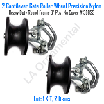 Cantilever Gate Roller Wheel Precision Nylon Heavy Duty 3