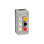 MMTC 3BXT Nema 4 Exterior Control Station 3 Button Double Pole, Surface Mount
