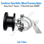 Cantilever Gate Roller Wheel Precision Nylon Heavy Duty 2