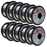 LOT 10 Hobart ER 4043 .035/1 LB SPOOL ALUMINUM MIG Welding Wire GENERAL PURPOSE