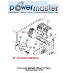 Powermaster Overload, 3 Phase 1.0-1.6amp Telemecanique For SG