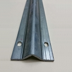 Slide Gate Track Galvanized Italy Inverted V Track 6 ft Section