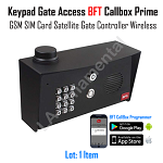 Keypad Gate Access BFT by Cell phone Callbox SIM Card Satellite Gate Wireless