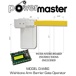 Power Master D-WBG Wishbone Arm Barrier Gate Operator with DC Motor
