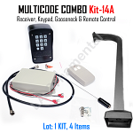 MULTICODE Kit-14A 109950 Receiver Compatible 2 Button Heddolf M330 300 Gooseneck