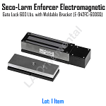 Seco-Larm Enforcer Electromagnetic Security Gate Lock, 600 Lbs (E-942FC-600 SQ)