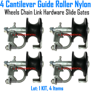 Nylon Rear Track Roller Set of 4