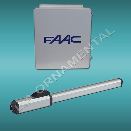 FAAC 402 CBC Stanard Operator Only 115V- Only Use  to make single unit into Master/Slave (Bi-Parting) Kit or use to order replacement operator
