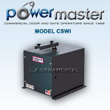 Powermaster CSWI-2004 1/2HP 230 - 208 1 Phase Volt Commercial Heavy Duty Swing