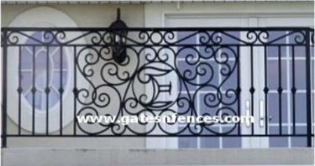 Aluminum Personalized Railing