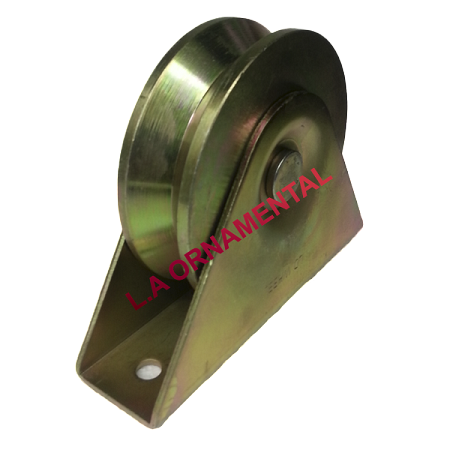 "4"" Temper Steel Double Ball Bearing Axle  with bracket"